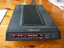 A dial up modem from the 1980s.