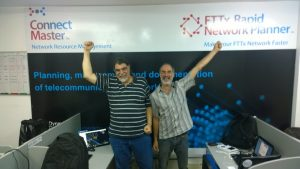 A photo during Fiber Connect 2017